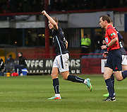 Greg Stewart celebrates his goal  - Dundee v Inverness Caledonian Thistle, SPFL Premiership at Dens Park <br /> <br />  - &copy; David Young - www.davidyoungphoto.co.uk - email: davidyoungphoto@gmail.com