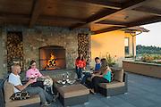 Willamette Valley Vineyards tasting room, Oregon