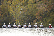 Boston, Massachusetts,  Women's Championship eights, Princeton Training Center, competing in the  Forty Second, [42nd] Head of the Charles, 22/10/2006.  Photo  Peter Spurrier/Intersport Images...[Mandatory Credit, Peter Spurier/ Intersport Images] Rowing Course; Charles River. Boston. USA