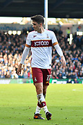 Alex Gilliead (17) of Bradford City during the EFL Sky Bet League 1 match between Portsmouth and Bradford City at Fratton Park, Portsmouth, England on 28 October 2017. Photo by Graham Hunt.