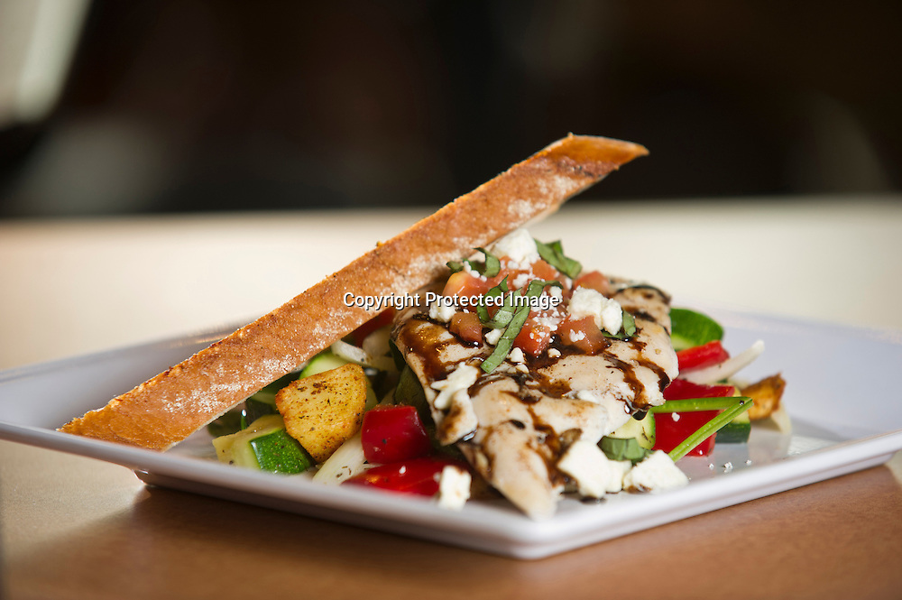 Food photography at restaurants in Northwest Arkansas.