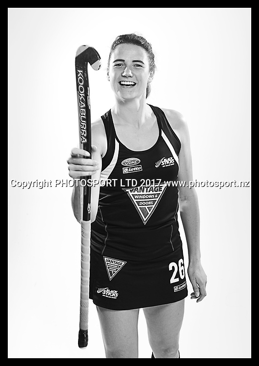 Pippa Hayward, New Zealand Black Sticks women, national hockey team photoshoot. Photosport Studio, Auckland. August 2017, Copyright Image: Andrew Cornaga / www.photosport.nz
