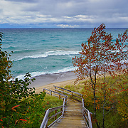 """Stairway to Lake Superior""<br />