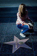 Los Angeles, April 7 2012 - Marilyn Monroe Star on the Hollywood Walk of Fame.