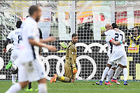 gol esultanza gol Mame Thiam goal celebration<br /> Milano 23-04-2017, Stadio Giuseppe Meazza, Football Calcio 2016/2017 Serie A, Milan - Empoli, Foto Image Sport/Insidefoto