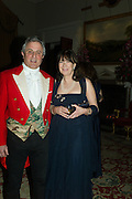 VISCOUNT ASTOR; VISCOUNTESS ASTOR, Charlton Hunt Ball at Goodwood House.  6 February 2016