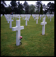 The American cemetery on Omaha beach