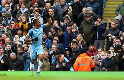 Gabriel Jesus of Manchester City celebrates after scoring his sides first goal - Mandatory by-line: Matt McNulty/JMP - 05/02/2017 - FOOTBALL - Etihad Stadium - Manchester, England - Manchester City v Swansea City - Premier League