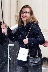Carole Bouquet arriving at Chanel show Haute Couture Spring/Summer 2019-2020 in Paris on january 22, 2019. Photo by Nasser Berzane/ABACAPRESS.COM