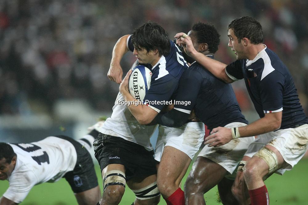 Rugby : France / Fidji - Test Match Tournee d Automne - 13.11.2010 - David Skrela (France) *** Local Caption *** 00042416