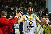 DESCRIZIONE : Cremona Lega A 2012-2013 Vanoli Cremona Banco di Sardegna Sassari<br /> GIOCATORE :  Luca Vitali<br /> SQUADRA : Vanoli Cremona<br /> EVENTO : Campionato Lega A 2012-2013<br /> GARA : Vanoli Cremona Banco di Sardegna Sassari<br /> DATA : 24/03/2013<br /> CATEGORIA : Ritratto Esultanza<br /> SPORT : Pallacanestro<br /> AUTORE : Agenzia Ciamillo-Castoria/F.Zovadelli<br /> GALLERIA : Lega Basket A 2012-2013<br /> FOTONOTIZIA : Cremona Campionato Italiano Lega A 2012-13 Vanoli  Cremona Banco di Sardegna Sassari<br /> PREDEFINITA :