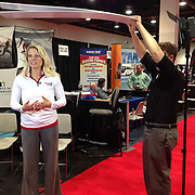 November 12, 2014, Las Vegas, Nevada:<br /> Drew Carlisle shoots the TEAMS conference in Las Vegas, Nevada Sunday, November 9, 2014.<br /> (Photo by Billie Weiss/TEAMS)