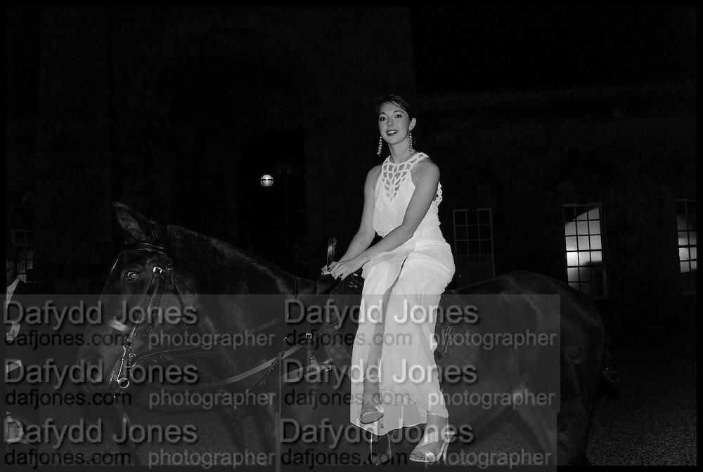 ELIZABETH HAMILTON, PRESIDENT OF THE CLUB, Oxford University Polo club Ball, Blenheim Palace. Woodstock. 6 March 2015ELIZABETH