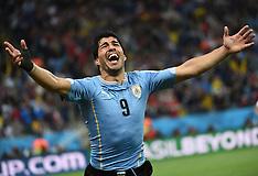 20140619 BRA: World Cup Uruguay - Engeland, Sao Paulo