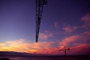 Building cranes<br />