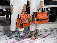 SEP 16 2014 Anya Hindmarch show at London Fashion Week