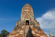 Wat Chai Watthanaram, UNESCO World Heritage Site, Ayutthaya, (m)