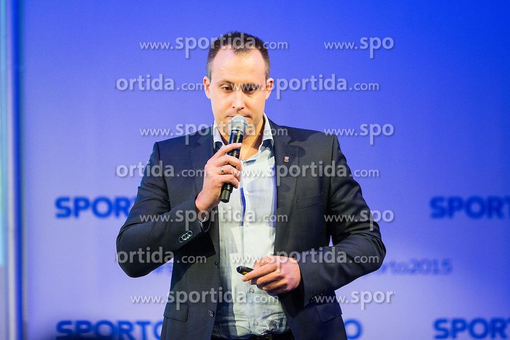 Florian Gosch (Austria olympic committee) during Sports marketing and sponsorship conference Sporto 2015, on November 20, 2015 in Hotel Slovenija, Congress centre, Portoroz / Portorose, Slovenia. Photo by Ziga Zupan / Sportida