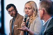 Jenny Weeden from Accelity Marketing at the Wisconsin Entrepreneurship Conference at Venue 42 in Milwaukee, Wisconsin, Wednesday, June 5, 2019.