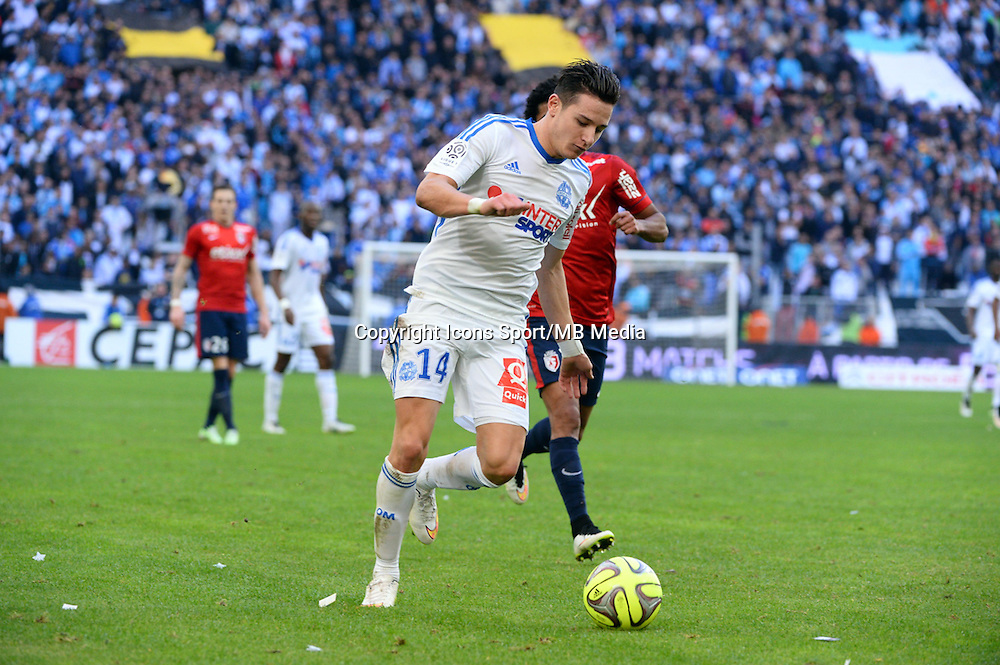 Florian THAUVIN - 21.12.2014 - Marseille / Lille - 19eme journee de Ligue 1 -<br />