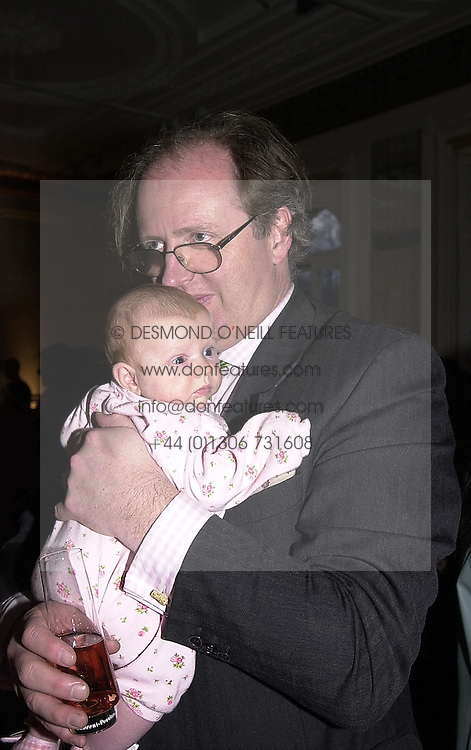 The HON.CHRISTOPHER GILMOUR and his daughter CHRISTABEL, at a party in London on 5th April 2000.OCS 26<br /> © Desmond O'Neill Features:- 020 8971 9600<br />    10 Victoria Mews, London.  SW18 3PY  photos@donfeatures.com   www.donfeatures.com<br /> MINIMUM REPRODUCTION FEE AS AGREED.<br /> PHOTOGRAPH BY DOMINIC O'NEILL