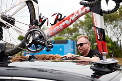 Race preparations in the Sunweb camp at GREE Tour of Guangxi Women's WorldTour 2019 a 145.8 km road race in Guilin, China on October 22, 2019. Photo by Sean Robinson/velofocus.com