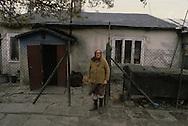 Poland. shanty town in  Lublin     /  bidonville a  Lublin  Pologne