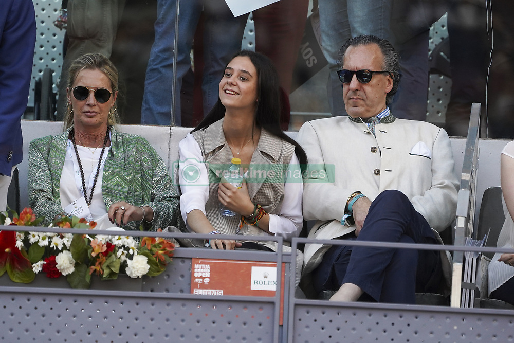 May 12, 2019 - Madrid, Spain - Victoria Federica de Marichalar y Borbón attend the men's final during day 9 of the Mutua Madrid Open at La Caja Magica on May 12, 2019 in Madrid, Spain. (Credit Image: © Oscar Gonzalez/NurPhoto via ZUMA Press)