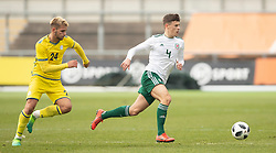 NEWPORT, WALES - Tuesday, November 19, 2019: Wales' Sam Bowen during the UEFA Under-19 Championship Qualifying Group 5 match between Kosovo and Wales at Rodney Parade. (Pic by Laura Malkin/Propaganda)