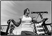 April 1976  •  Venice Beach, CA  •  Bunte assignment  •  Tri-X  •  15mm Nikkor