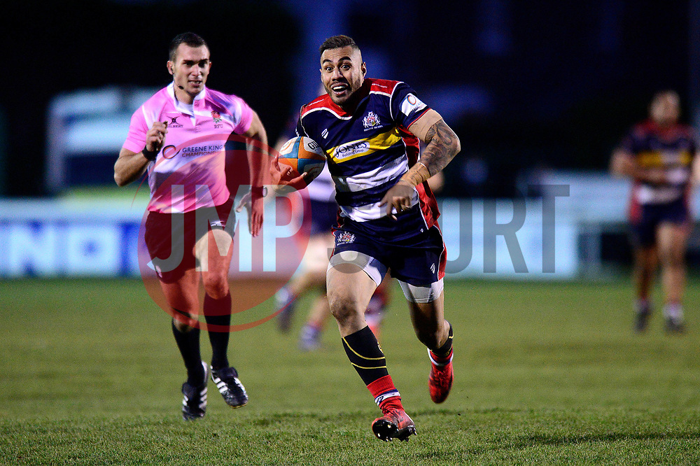 Tusi Pisi of Bristol Rugby - Mandatory by-line: Dougie Allward/JMP - 30/12/2017 - RUGBY - The Athletic Ground - Richmond, England - Richmond v Bristol Rugby - Greene King IPA Championship