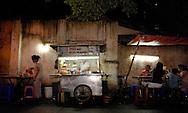 Dining 'al fresco' in a Ho Chi Minh alleyway