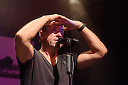 Jan Josef Liefers &  Radio Doria bei Kultur im Zelt, Braunschweig am 16.September 2014. Foto: Rüdiger Knuth
