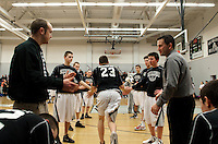 NHIAA Division III boys varsity basketball Prospect Mountain versus Berlin  February 16, 2012.