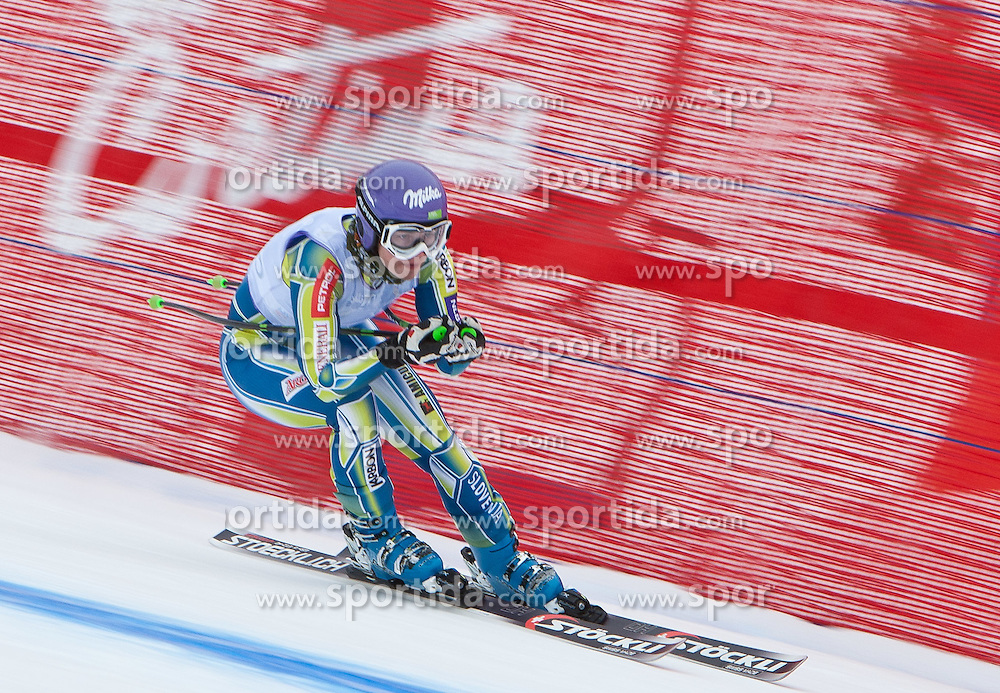 19.01.2011, Tofana, Cortina d Ampezzo, ITA, FIS World Cup Ski Alpin, Lady, Cortina, Abfahrt 1. Training, im Bild Tina Maze (SLO, #23) // Tina Maze (SLO) during FIS Ski Worldcup ladies downhill first training at pista Tofana in Cortina d Ampezzo, Italy on 19/1/2011. EXPA Pictures © 2011, PhotoCredit: EXPA/ J. Groder