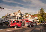 Ladder 39 of the Katonah Fire Department. (photo by Gabe Palacio)