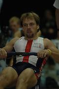 2005 British Indoor Rowing Championships, Competitors, Men's Lightweights,  DEN, Rasmus QUIST, Rowing Machines, National Indoor Arena, Birmingham, ENGLAND,    20.11.2005  [Mandatory Credit Peter Spurrier/ Intersport Images]
