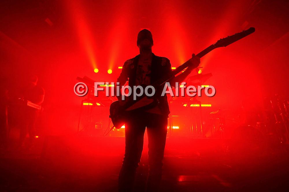 &copy; Filippo Alfero<br /> FuturFestival 2010 - Bloody Beetroots live<br /> Torino - 07/12/2010<br /> spettacolo