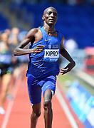 Asbel Kiprop (KEN) wins the 1,500m in 3:29.33 during IAAF Birmingham Diamond League meeting at Alexander Stadium on Sunday, June 5, 2016, in Birmingham, United Kingdom. Photo by Jiro Mochizuki