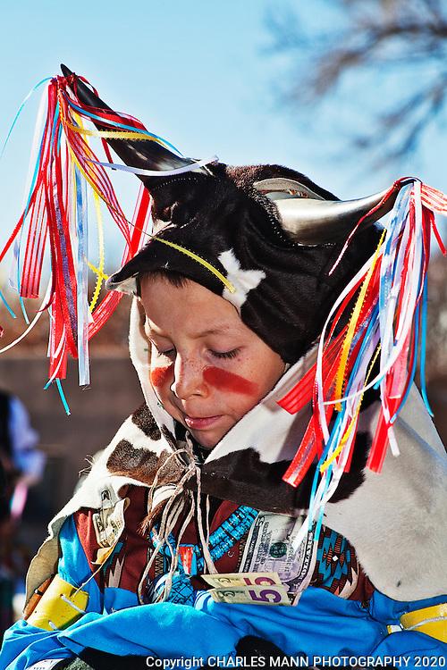 Ohkay Owingeh_Christmas_Jovan Aguino_Matachine dances_2012_Santa