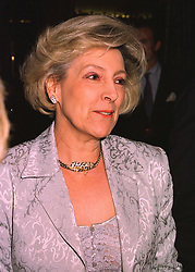 SUSAN, VISCOUNTESS HEREFORD at a party in London on 19th March 1998.<br /> MGD 24