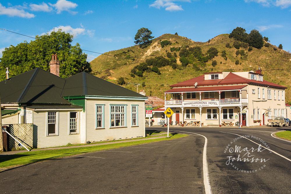 Whangamomona Township, North Island, New Zealand