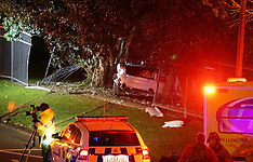 Wellington-Serious injuries in vehicle accident, Porirua