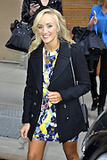 March 25, 2015 - New York City, NY, USA - <br /> <br /> Russia Gymnast Nastia Liukin made an appearance at 'The View' on March 25 2015 in New York City<br /> ©Zuma/Exclusivepix Media
