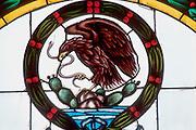 MEXICO, MEXICO CITY Nat. symbol; eagle, snake, cactus