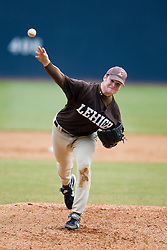 Lehigh pitcher Andrew Berger.  The #17 ranked Virginia Cavaliers baseball team defeated the Lehigh Mountain Hawks 12-1 at the University of Virginia's Davenport Field in Charlottesville, VA on February 24, 2008.