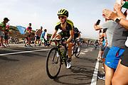 Simon Yates (GBR - Mitchelton - Scott), during the UCI World Tour, Tour of Spain (Vuelta) 2018, Stage 9, Talavera de la Reina - La Covatilla 200,8 km in Spain, on September 3rd, 2018 - Photo Luca Bettini / BettiniPhoto / ProSportsImages / DPPI