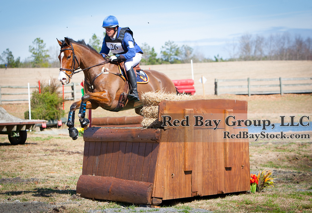 Will Faudree and DHI Colour Candy at the 2014 Pine Top Farm Advanced Horse Trials in Thomson, Georgia.