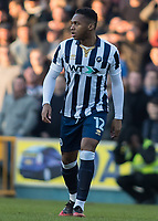 Football - 2016 / 2017 FA Cup - Fifth Round: Millwall vs. Leicester City <br /> <br /> Mahlon Romeo of Millwall at The Den<br /> <br /> COLORSPORT/DANIEL BEARHAM