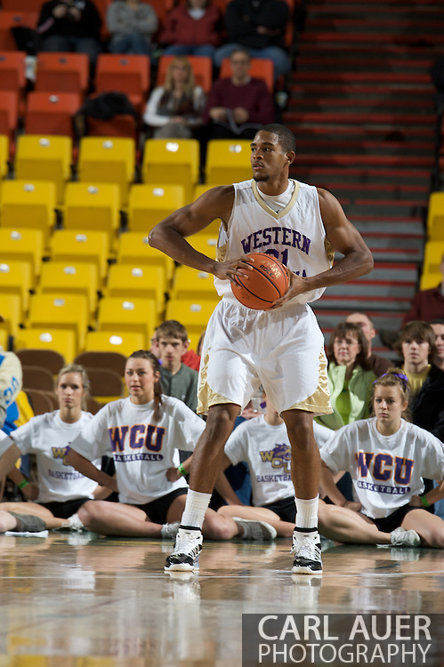November 27, 2008: Western Carolina forward Adrian Gailliard (31) in the final game in the opening round of the 2008 Great Alaska Shootout at the Sullivan Arena